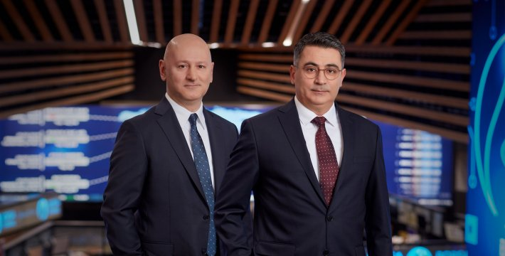 Ali Işık, EVP-IT Systems and Infrastructure and M. Ufuk Özdemir, EVP-IT Application Development